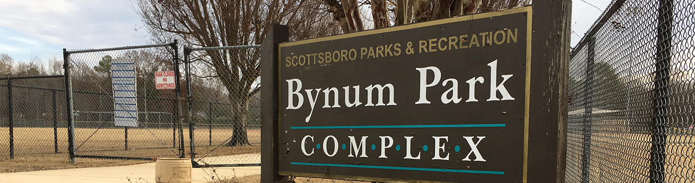 Bynum Park Complex in Scottsboro Alabama.