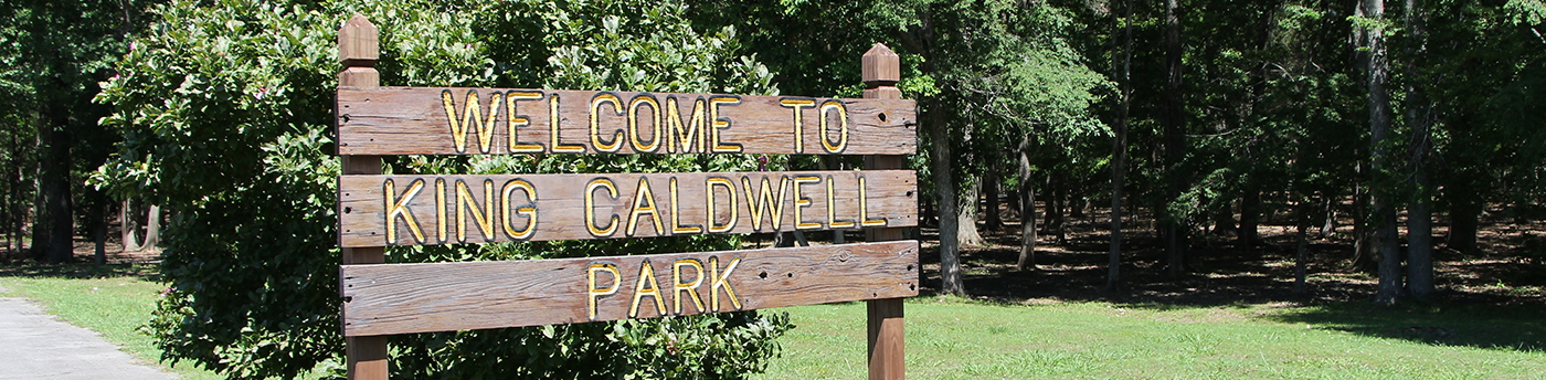 King Caldwell Park in Scottsboro, Alabama
